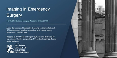 Imaging in Emergency General Surgery tickets