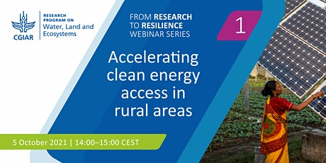 Accelerating clean energy access in rural areas tickets