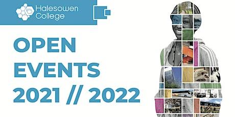 Halesowen College Open Events 2021/22 tickets