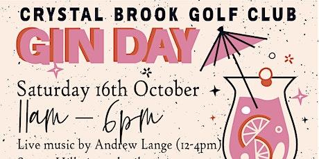 Crystal Brook Golf Club Gin Day - round 2! tickets