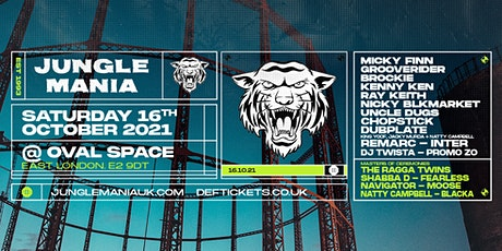 Jungle Mania @ Oval Space tickets