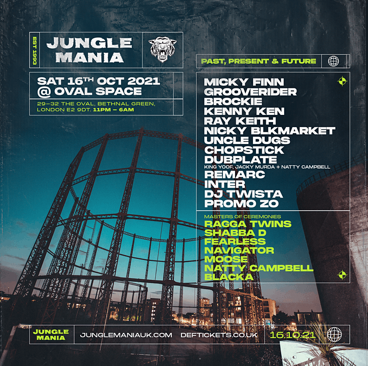 Jungle Mania @ Oval Space image