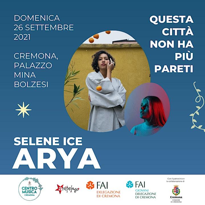 Immagine Selene Ice + ARYA  • Cremona, sabato 25 settembre
