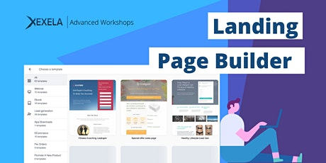 Landing Page Builder - Online Workshop tickets