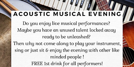 Acoustic Musical Evening tickets