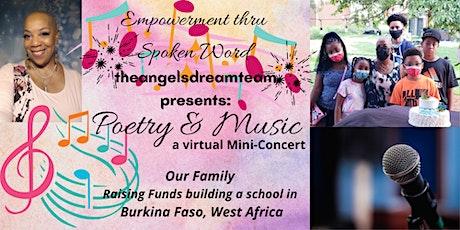 Poetry & Music ~ A Burkina Faso virtual mini-concert tickets