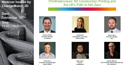 'Printfrastructure: 3D Construction Printing and the UK's Path to Net Zero' tickets
