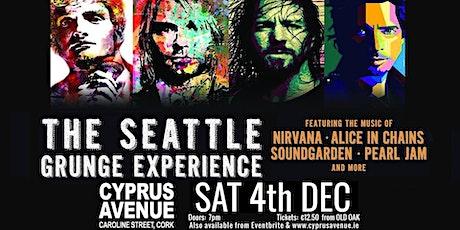 SEATTLE GRUNGE EXPERIENCE tickets