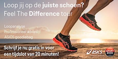 ASICS Feel the Difference Tour - SPORT 2000 van Neerven Boxmeer 15 oktober tickets