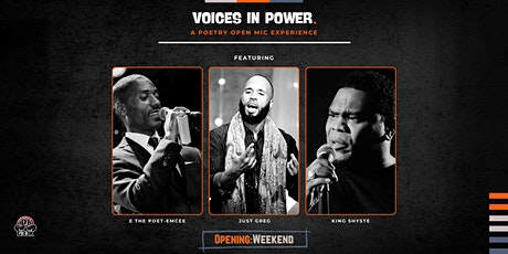 Voices In Power: A Poetry Open Mic Experience tickets