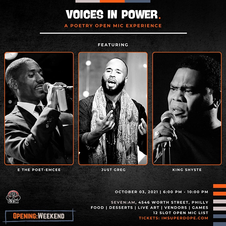 Voices In Power: A Poetry Open Mic Experience image