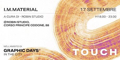In the city - Graphic Days® - I.M.Material biglietti