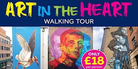 ART IN THE HEART -  BELFAST STREET ART TOUR tickets