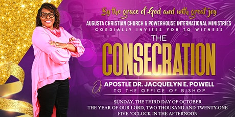 Dr. Jacquelyn Powell Consecration to Service of Bishop tickets