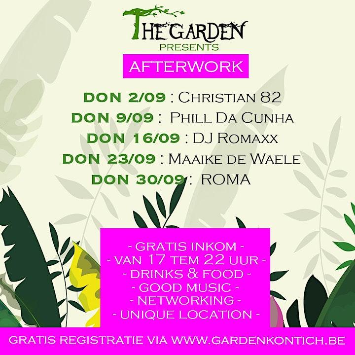 Afbeelding van Afterwork in the garden