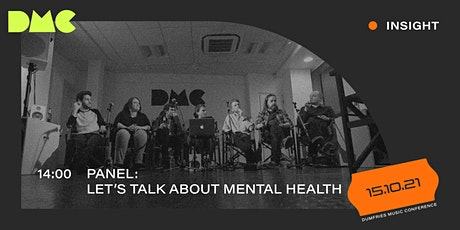Panel: Let's Talk About Mental Health tickets