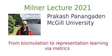 University of Edinburgh Milner Lecture 2021 tickets