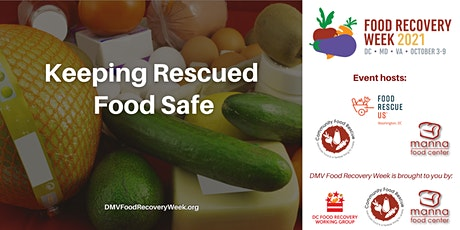 Keeping Rescued Food Safe tickets