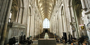 The Treasury in Winchester Cathedral