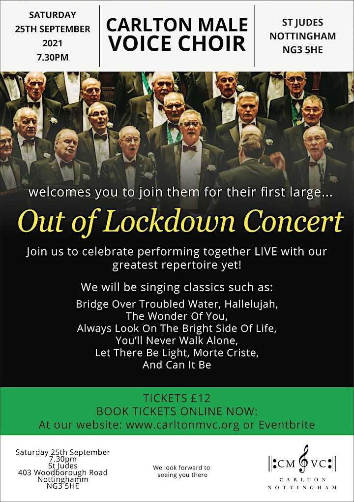 Out of Lockdown Concert image