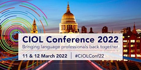 CIOL Conference 2022 tickets
