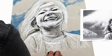 Portraitzeichnen für Anfänger Frühstückskurs | Workshop Tickets