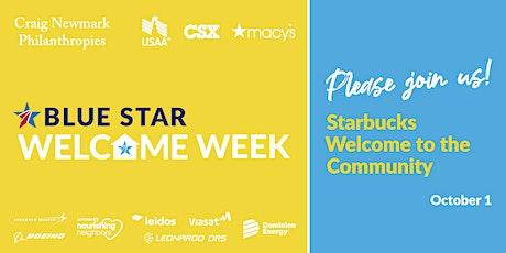 Blue Star Welcome Week Starbucks Reserve Tasting tickets