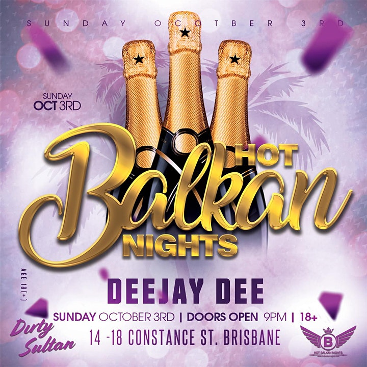 Hot Balkan Nights - Brisbane image