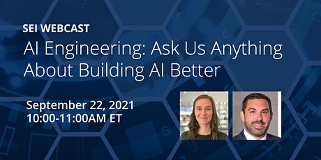 AI Engineering: Ask Us Anything About Building AI Better tickets