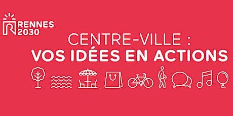 Concertation Rennes 2030 - Atelier riverains et grand public (secteur 1) billets