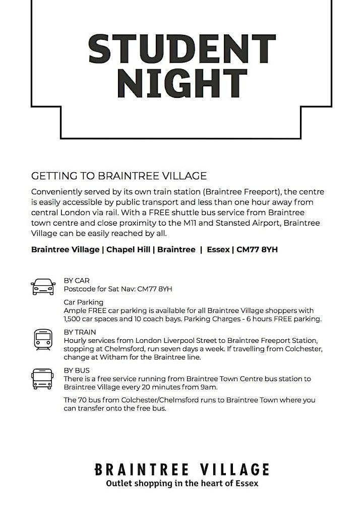 Student Night at Braintree Village image