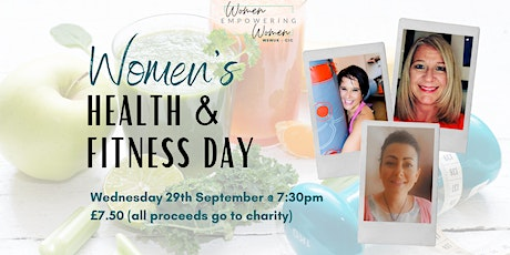 Women's Health & Fitness Day - with our team of experts! tickets