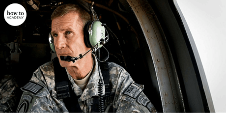 General Stanley McChrystal Former Commander of the US Forces in Afghanistan biglietti