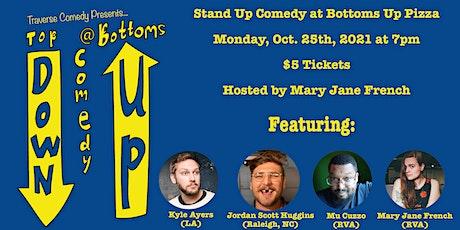 Top Down Comedy Presents: Kyle Ayers Ft. Jordan Scott Huggins & Mu Cuzzo tickets