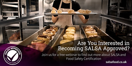 Introduction to SALSA and Food Safety Certification tickets