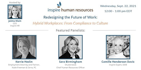 Hybrid Workplaces: From Compliance to Culture tickets
