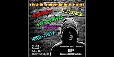 Techno Experience Night tickets