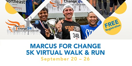 US Day featuring MarcUS for Change 5K Walk & Run - Virtual tickets
