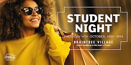 Student Night at Braintree Village tickets