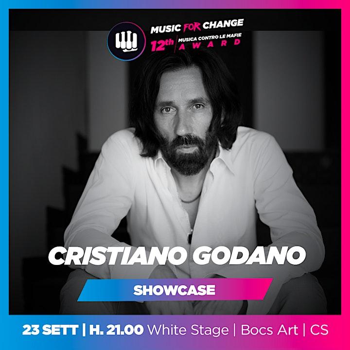 Immagine CRISTIANO GODANO (23-09-2021 ore 21:00) [Music for Change 2021]
