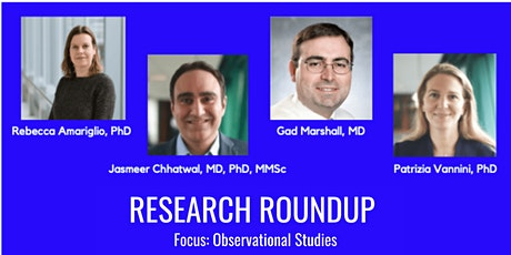 Research Roundup - Observational Studies Focus tickets