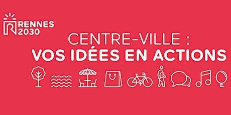 Concertation Rennes 2030 - Atelier riverains et grand public (secteur 2) billets