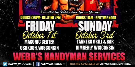 ACW 42 - Water City Weekend Night 1 tickets