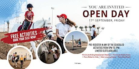 Al Habtoor Riding School Open Day 2021 tickets