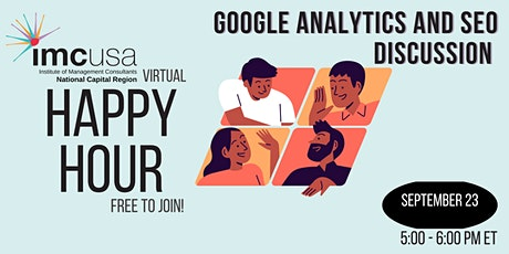 IMC NCR Happy Hour - Leveraging Google Analytics Discussion boletos