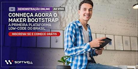 Demonstração Online: Conheça a primeira plataforma Low-Code do Brasil ingressos