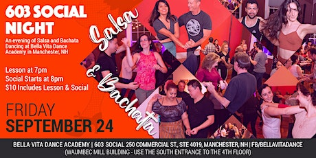 603 Salsa and Bachata Social in Manchester, NH tickets