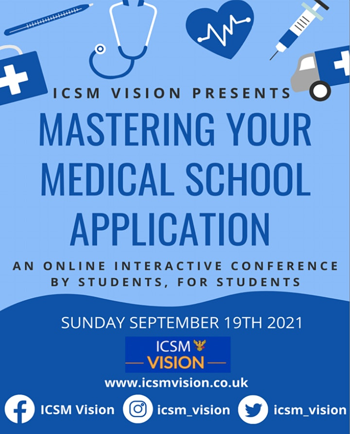 ICSM Vision Mastering Your Medical Application (MMA) Day 2021 image