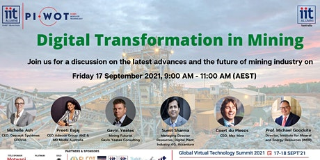 Digital Transformation in Mining - Challenges and Opportunities tickets
