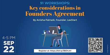 Key Considerations in Founders Agreement tickets